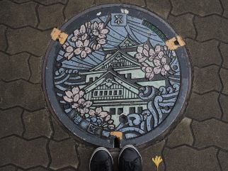 Another pretty manhole